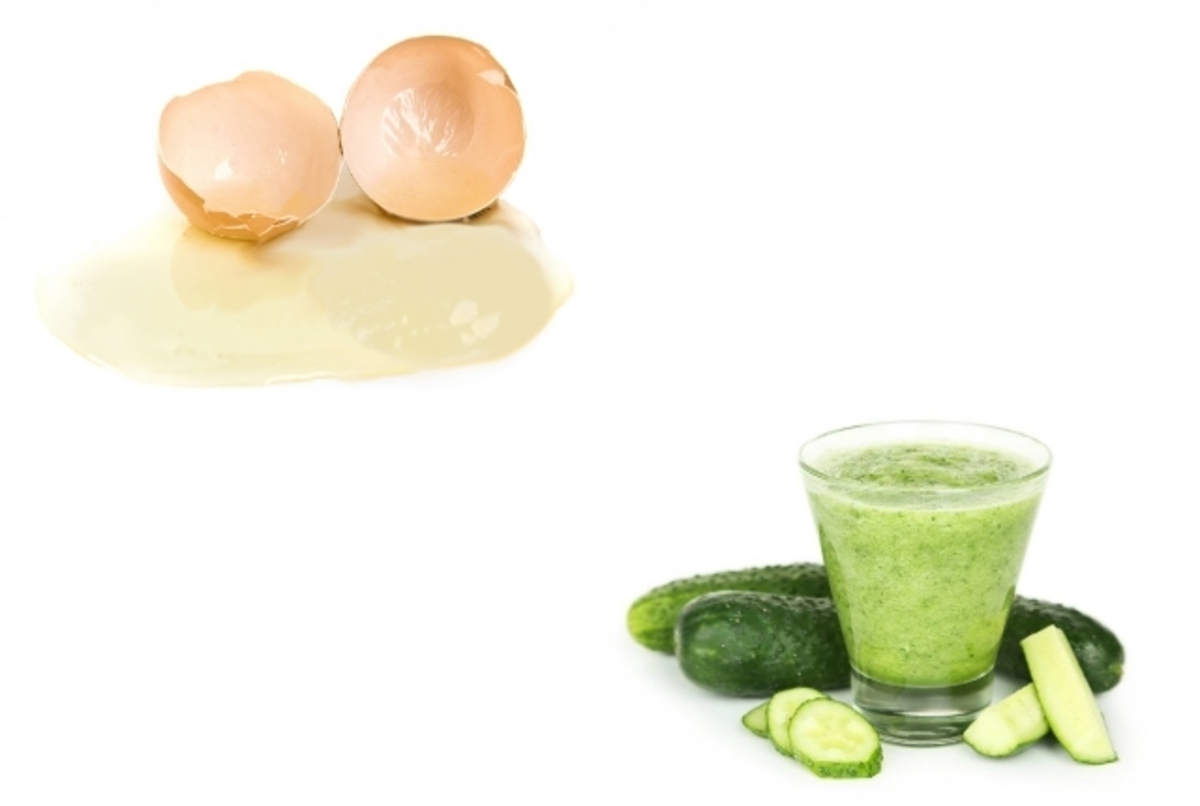 Egg-White-And-Cucumber-Juice