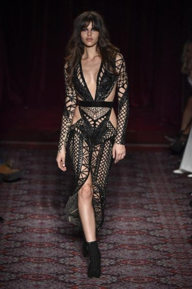 Julien Macdonald RTW Fall 2017
