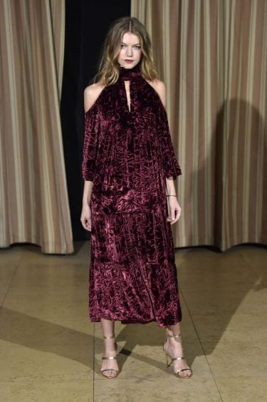 Mandatory Credit: Photo by WWD/REX/Shutterstock (8283214t) Model Rachel Zoe Collection, Presentation, Los Angeles, USA – 06 Feb 2017